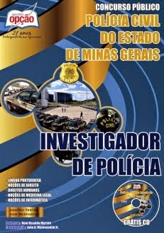 Concurso Polícia Civil / MG  INVESTIGADOR DE POLÍCIA 2014