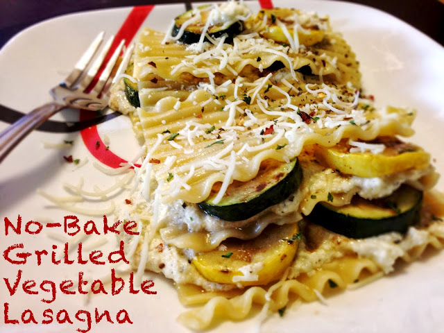 3D Dinners: No-Bake Grilled Vegetable Lasagna
