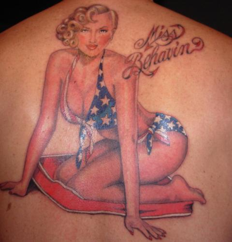 Pin Up Girl Tattoos