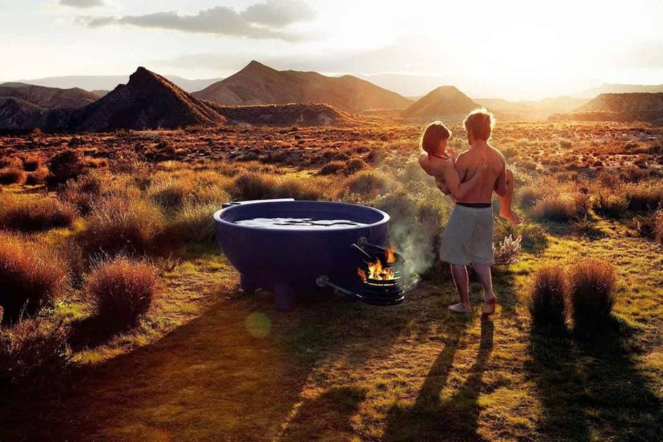 Heated Up!: 30 Stunning Wood-fired Hot Tubs from Around the World