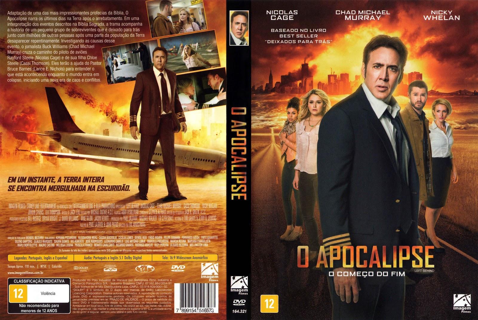 Capa DVD O Apocalipse