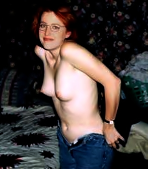 photos gillian anderson x files nue