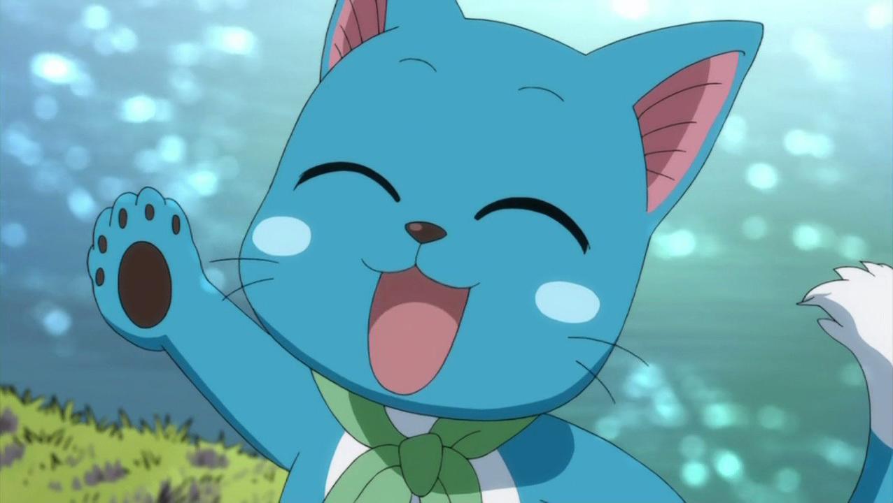 Burning Lizard Studios: Fantasy Casting: Fairy Tail Happy Fairy Tail Cute