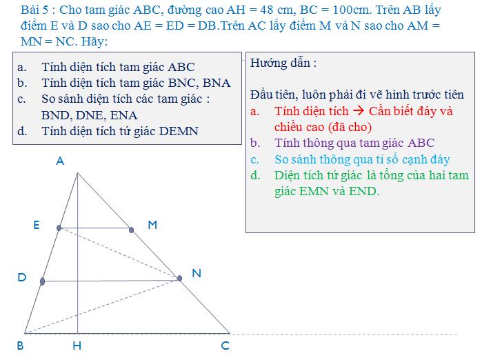 bài tập về hình thang - toán lớp 5