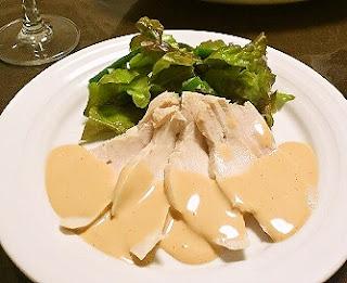 鶏胸肉のサラダソースオロール