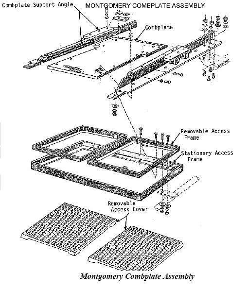 escalators basic components