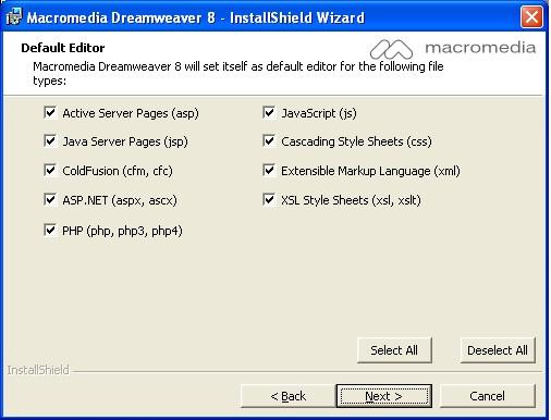 cara memasukan serial number macromedia dreamweaver 8