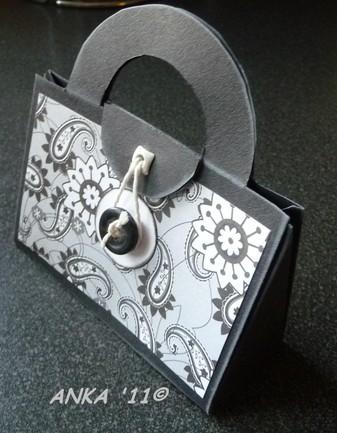 ankas bastelseiten eine kleine handtaschenkarte