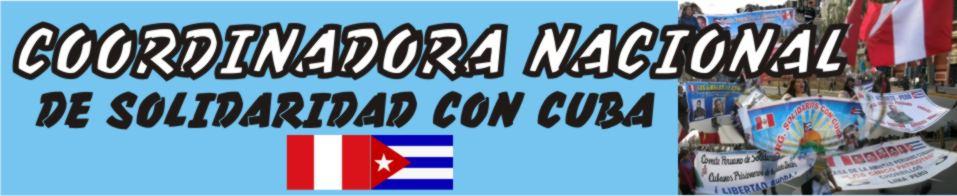 COORDINADORA NACIONAL DE SOLIDARIDAD CON CUBA