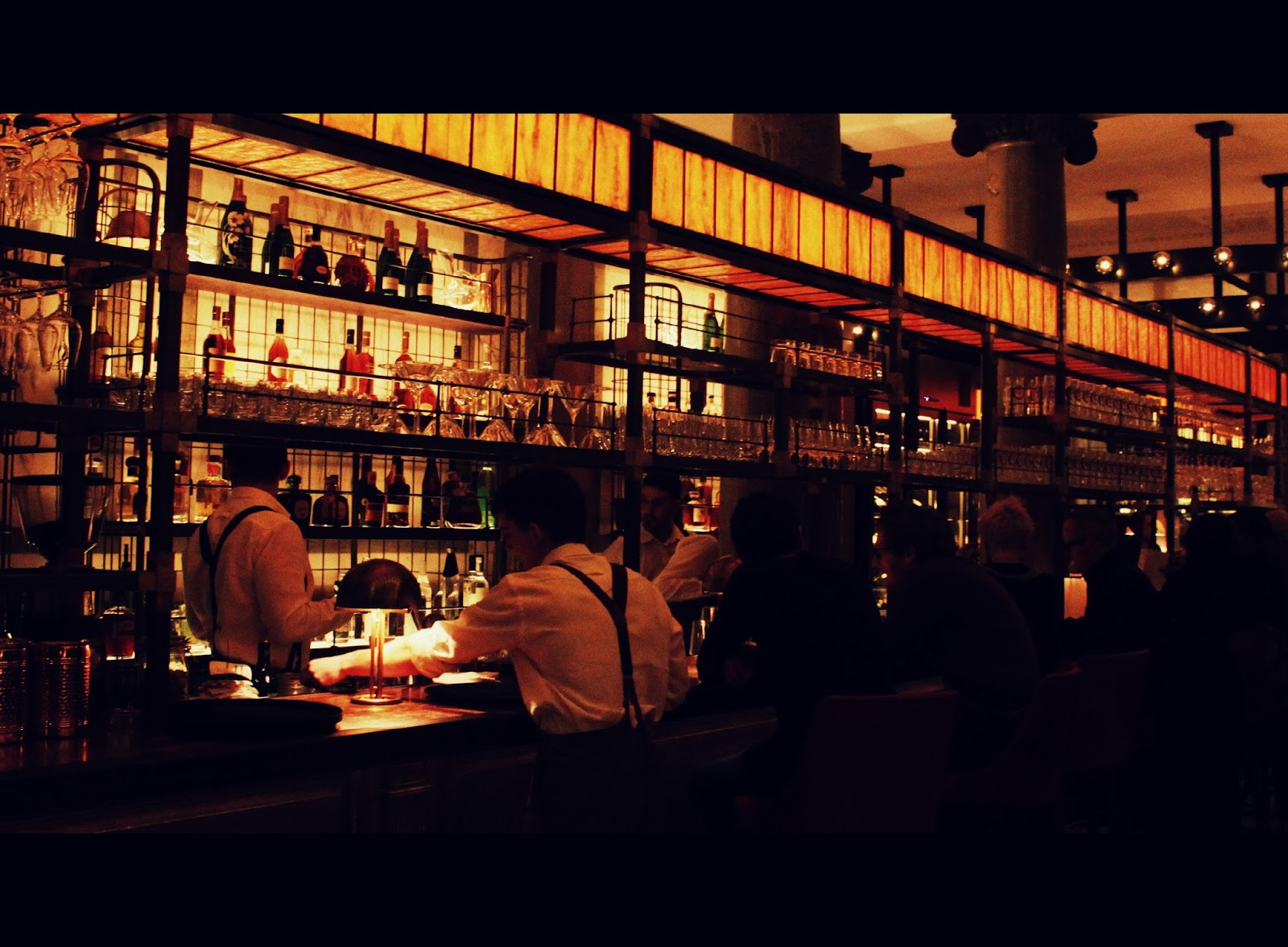 Matt The List - Archives: Holborn Dining Room - Scarfes Bar at ...