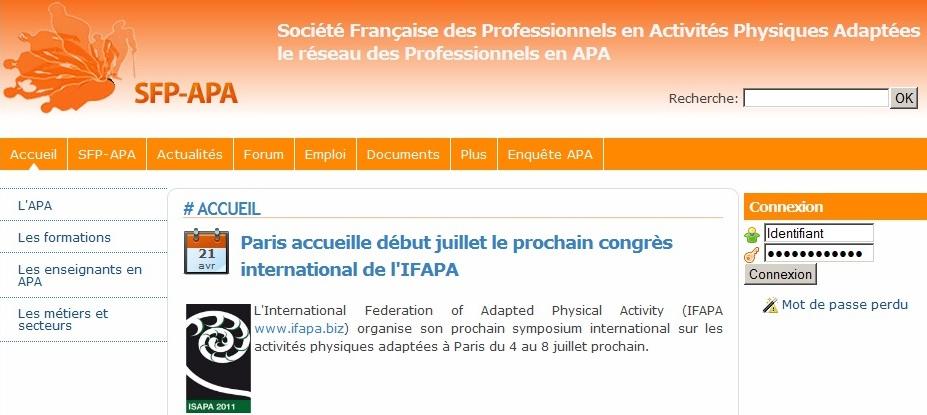 Le Site De La SFP APA Met En Ligne Des Offres Demplois Spcifiques Et Nexistant Nulle Part Ailleurs Documents Tlchargeables Relation Avec LAPA