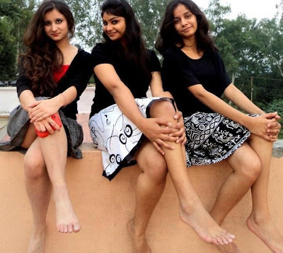 indian desi girls barefeet legs