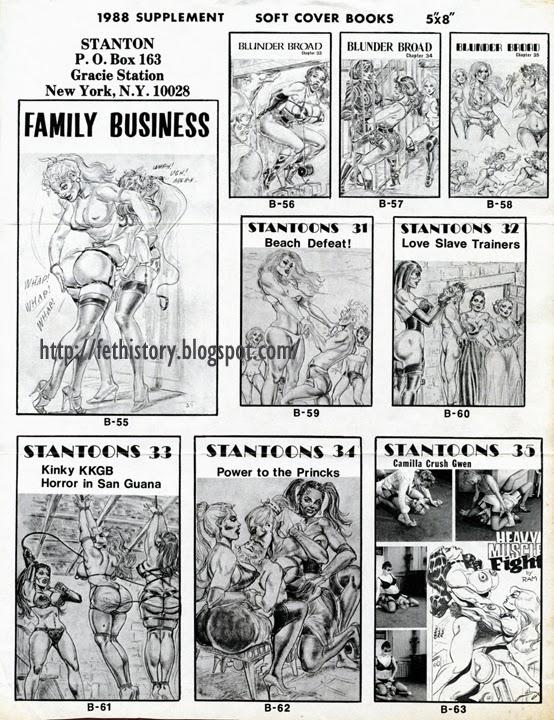 Stanton Archives Eric Stanton 1988 supplement