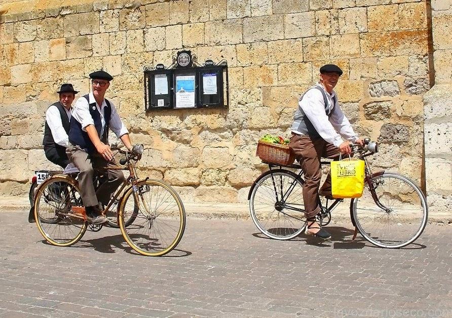 Retrobikes in Medina de Rioseco