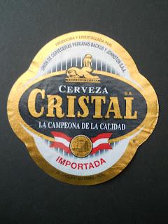 peruvian beer Cristal
