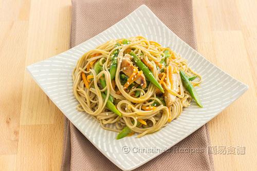 照燒雞蕎麥麵 Teriyaki Chciken Soba Noodles02