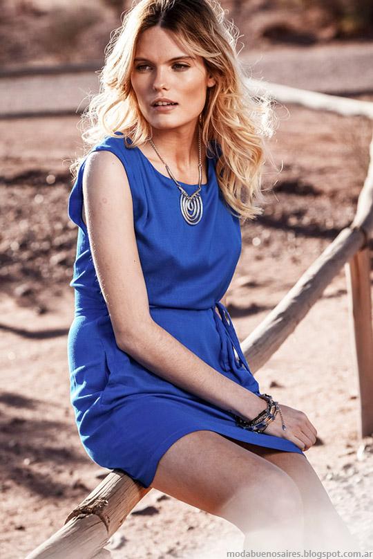 Vestidos primavera verano 2015. Moda mujer verano 2015, colección Markova, vestidos cortos de verano.