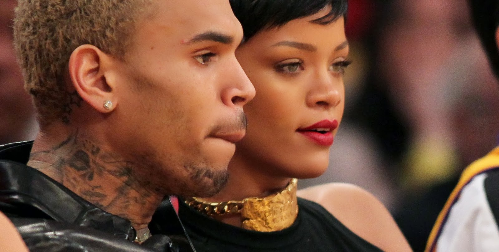 Pictures of rhianna beat up by chris brown Rihanna opens up about Chris Brown assault - BBC News - m