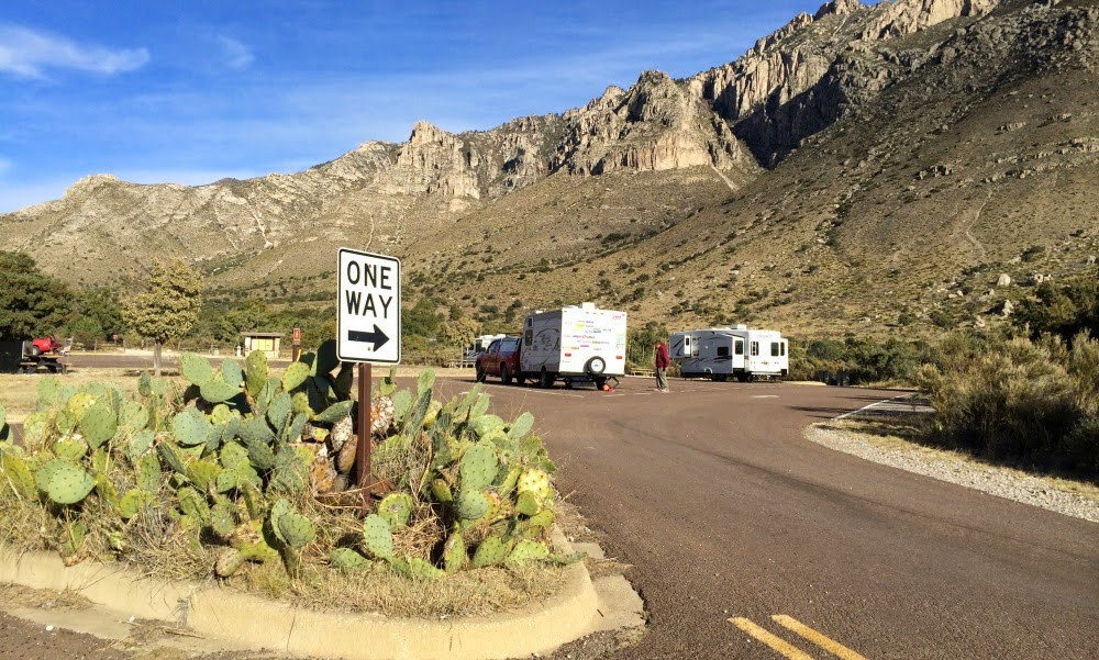 Camping i Guadalupe Mountains National Park