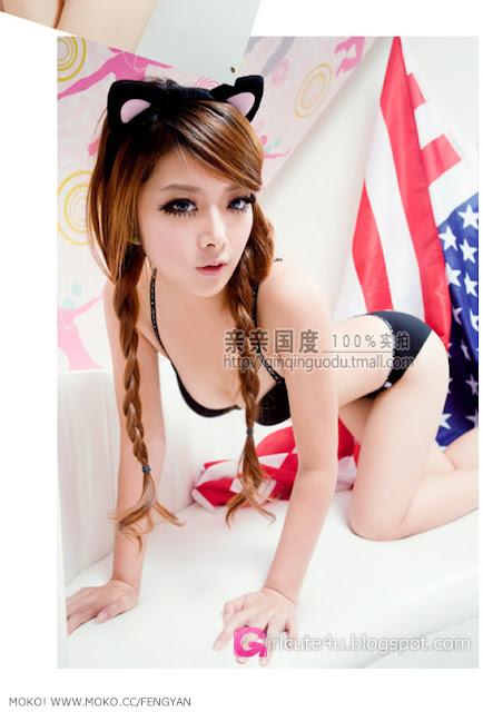 2 Feng Yan - Sweet and sexy style-very cute asian girl-girlcute4u.blogspot.com