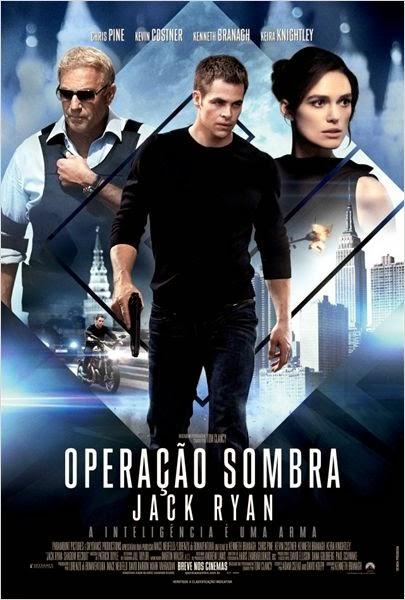 """Poster do filme """"Operação Sombra - Jack Ryan"""""""