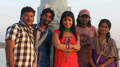 Radhika Pandit Photo Shoot on Location of BAHADDUR movie