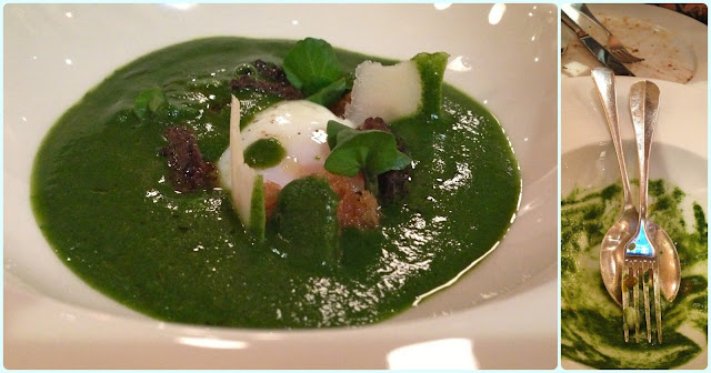 Little Social, London - Watercress Soup