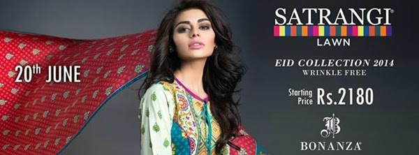 Bonanza Eid Collection 2014-2015