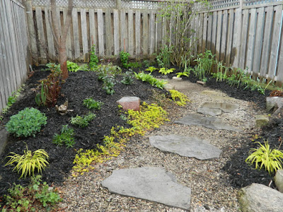 Coxwell East Danforth backyard renovation after by Paul Jung Gardening Services Toronto