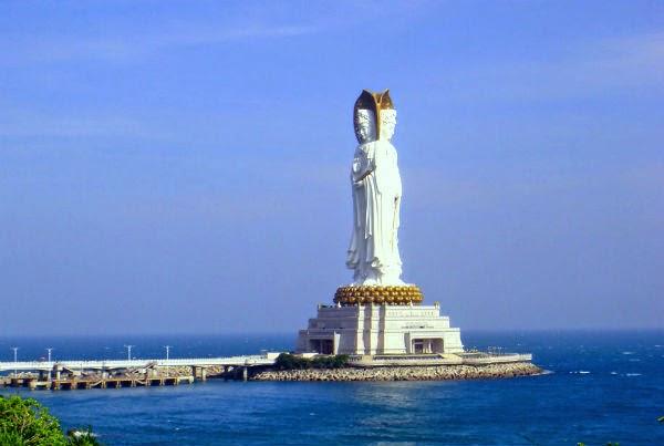 favorite place Beijing Guayin statue