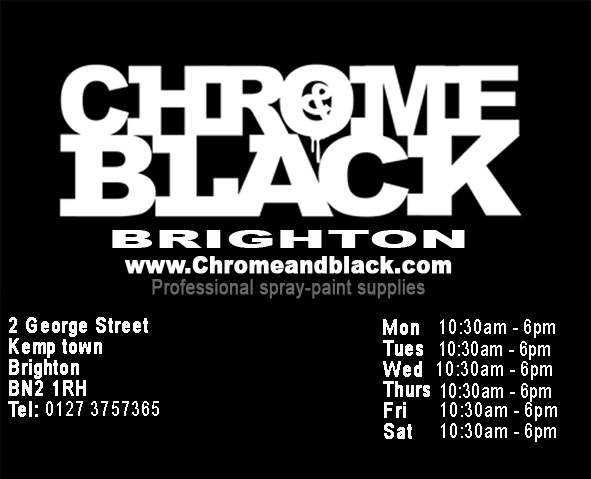 Chrome and Black Brighton