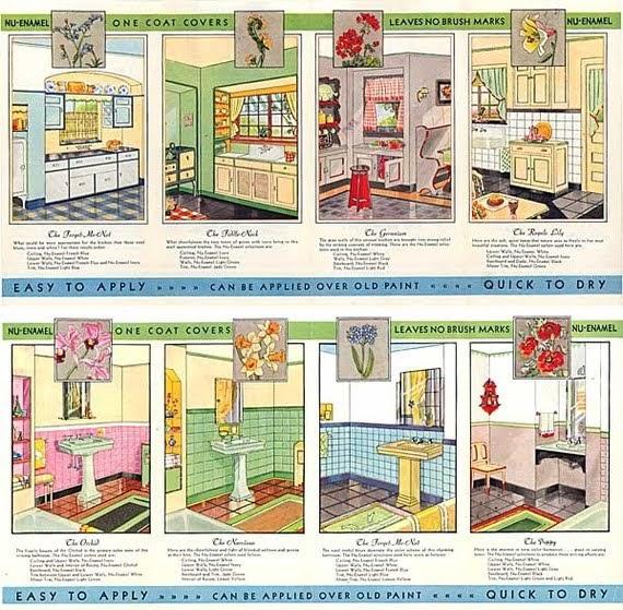 1930s interior paint colors