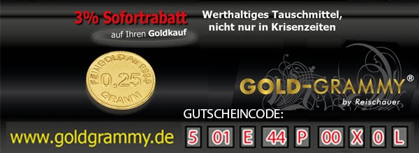 3% Rabatt beim Goldkauf !