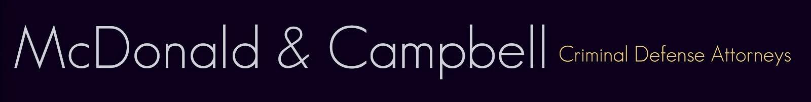 McDonald & Campbell