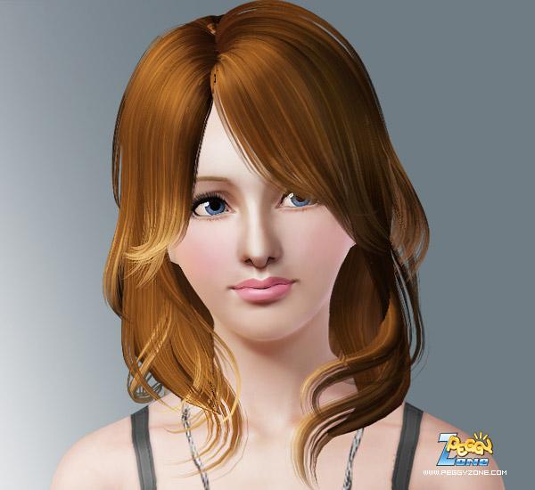 Valery Long Waves Hair at Birksches Sims Blog