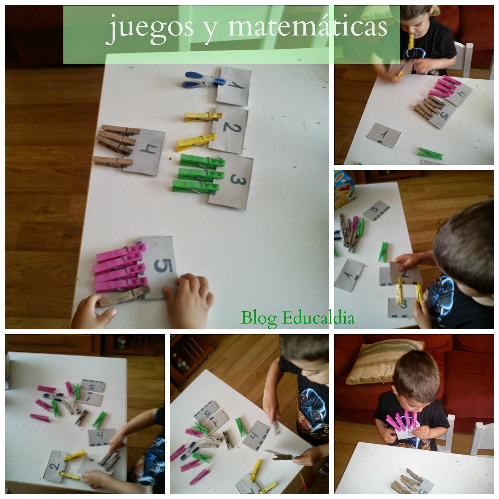 montessori, homeschooling, actividad matemátca niños