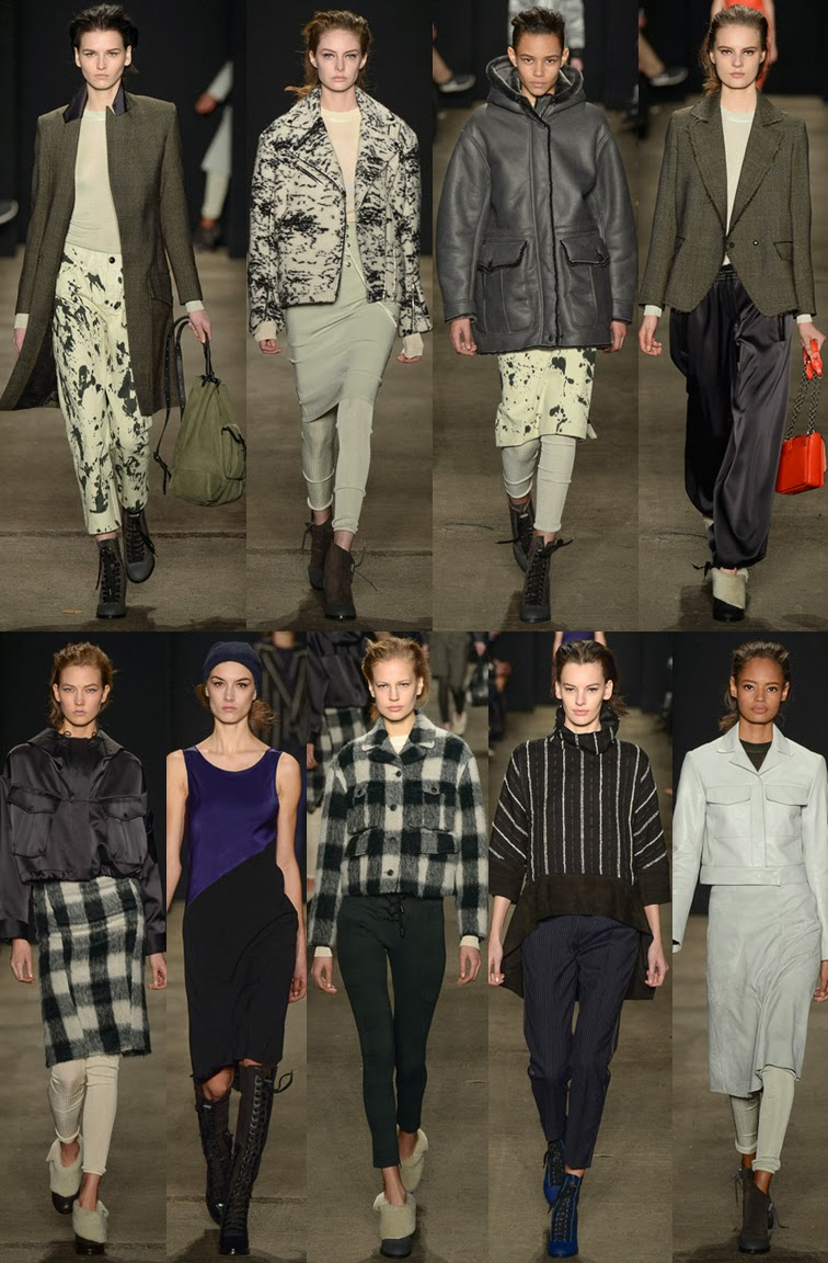 Rag & Bone fall winter 2014 runway collection, NYFW, New York fashion week