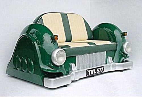 Unique Furniture Made From Old Cars Part