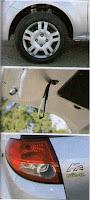 llanta baul optica Ford Ka 1.6 Viral Nuevo