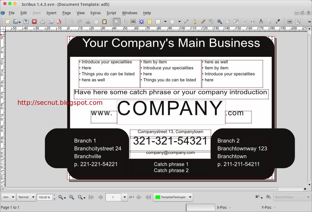 Adobe indesign freeware alternative