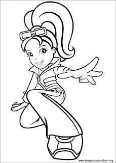 Desenhos da Polly
