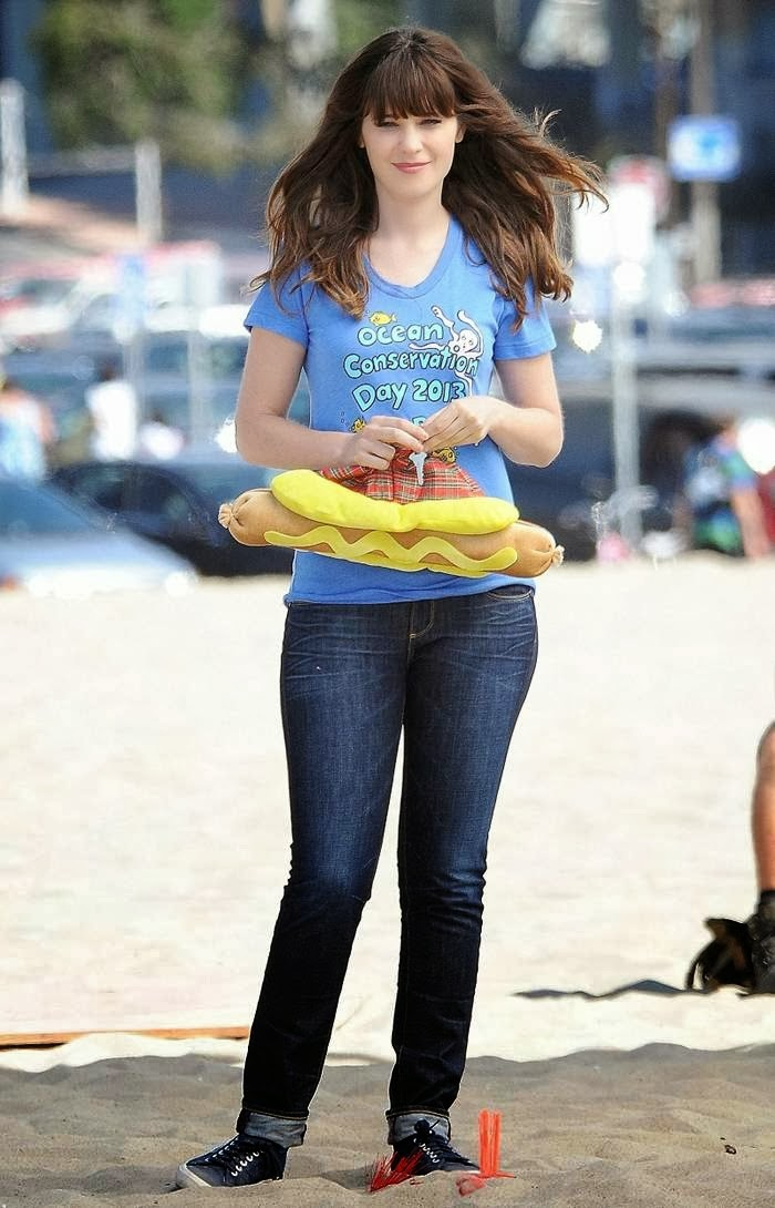 zooey deschanel pants zooey deschanel clothes zooey deschanel pants    Zooey Deschanel Yoga Pants