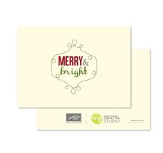 Ever Brite Greeting Card Template