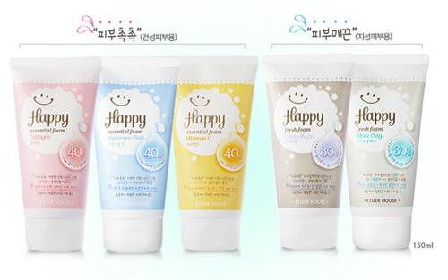 Happy Essential Foam Collagen