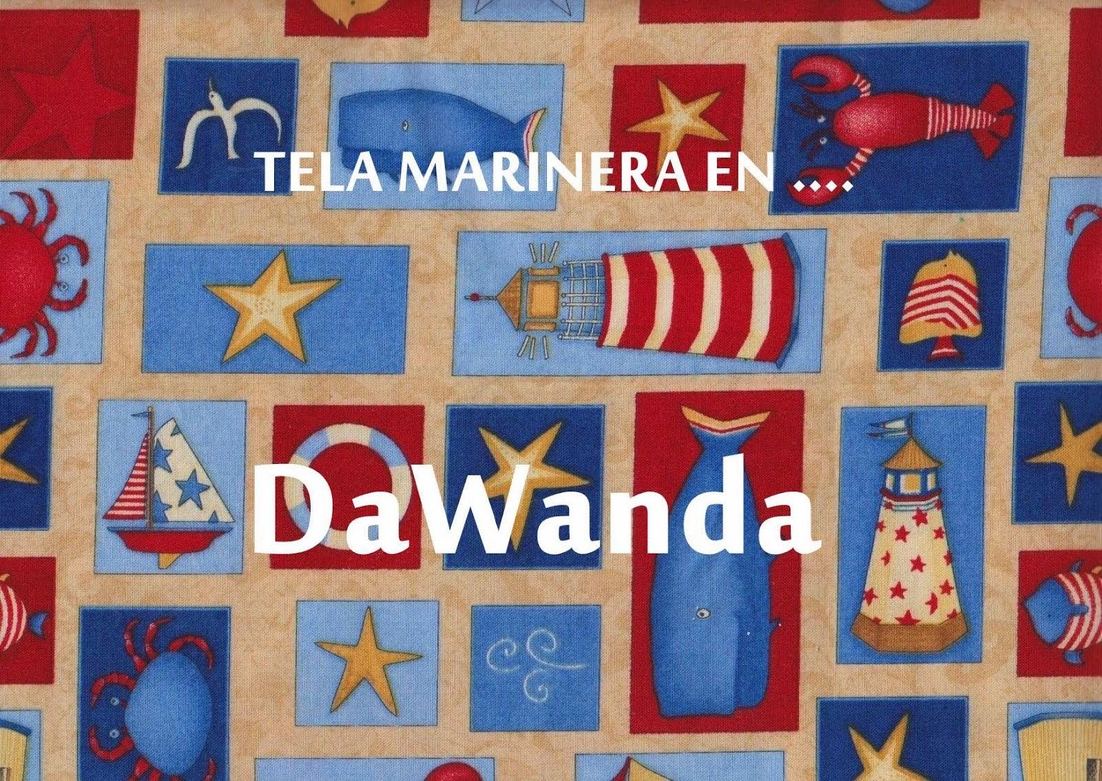 Tela Marinera en DaWanda