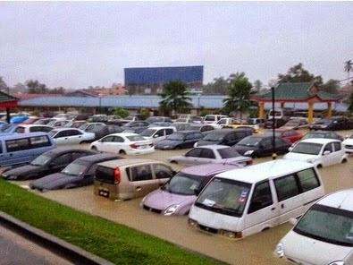 Terkini Pekan Rantau Panjang Teruk Dilanda Banjir