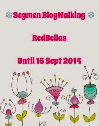 Segmen BlogWalking bersama RedBellas