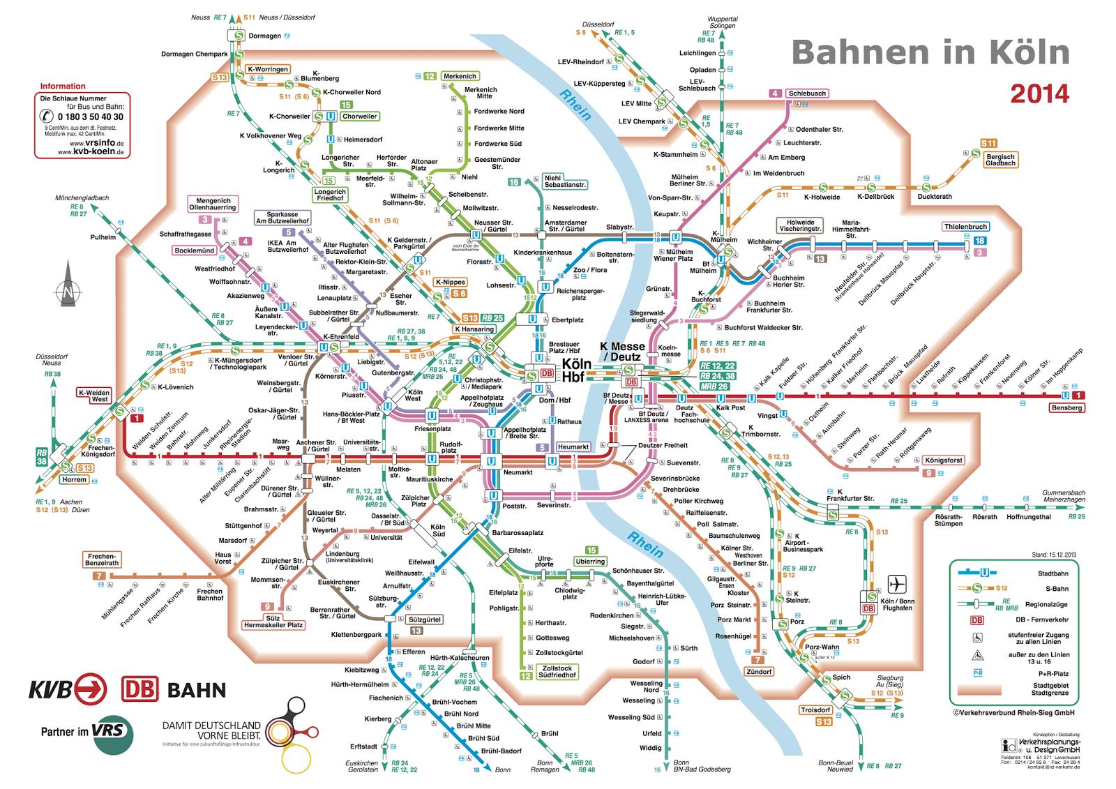 2014科隆列车全图