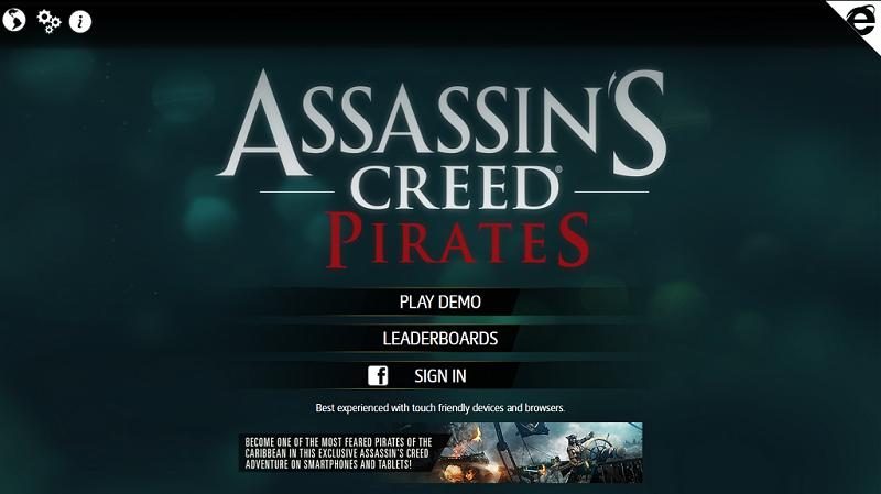 Assasins Creed: Pirates Demo