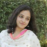 Nitya meenon Latest Photo Gallery in Salwar Kameez at New Movie Opening 1